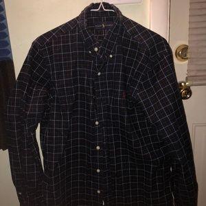 Polo Ralph Lauren Button Up Long Sleeve Shirt (M)